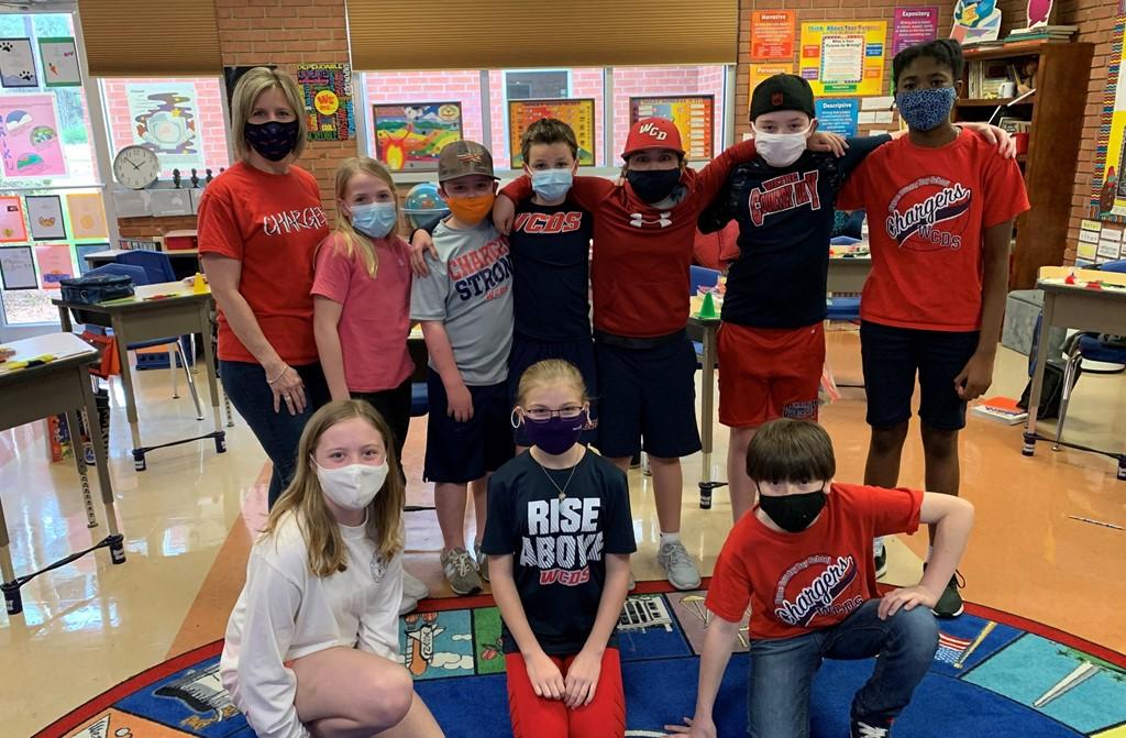 5th grade class pic