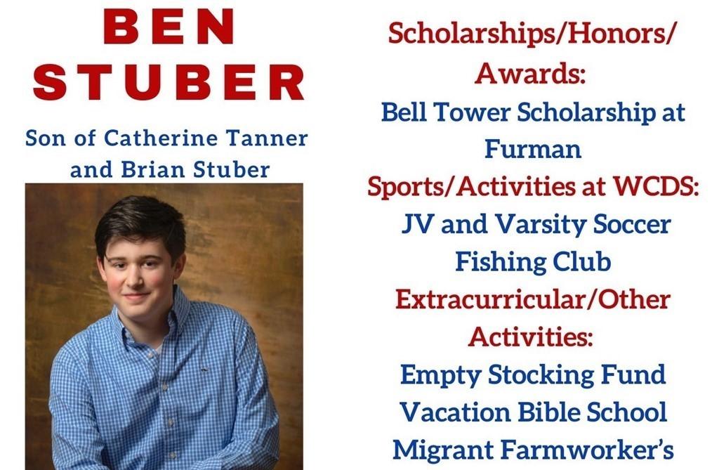 Ben Stuber Senior Profile