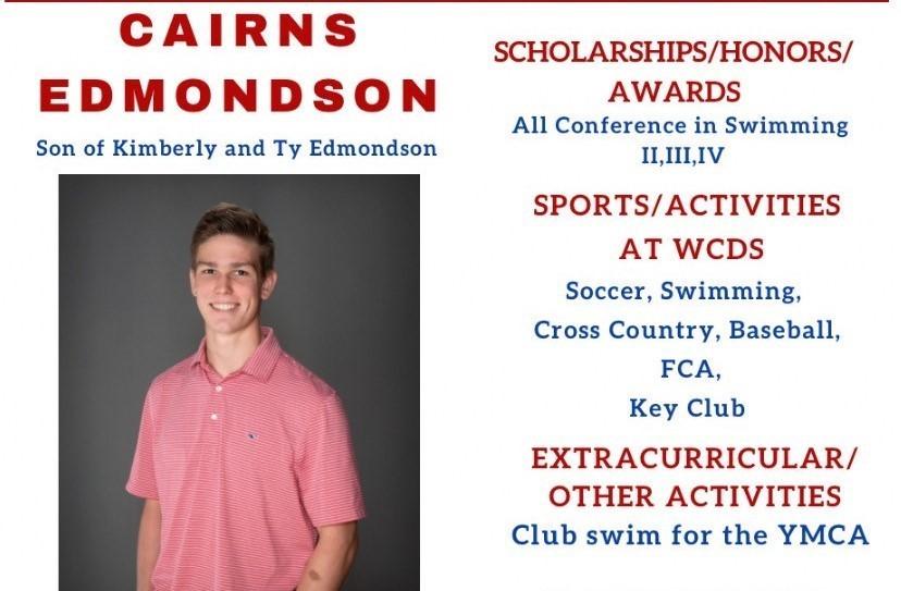 Cairns Edmondson Senior Profile