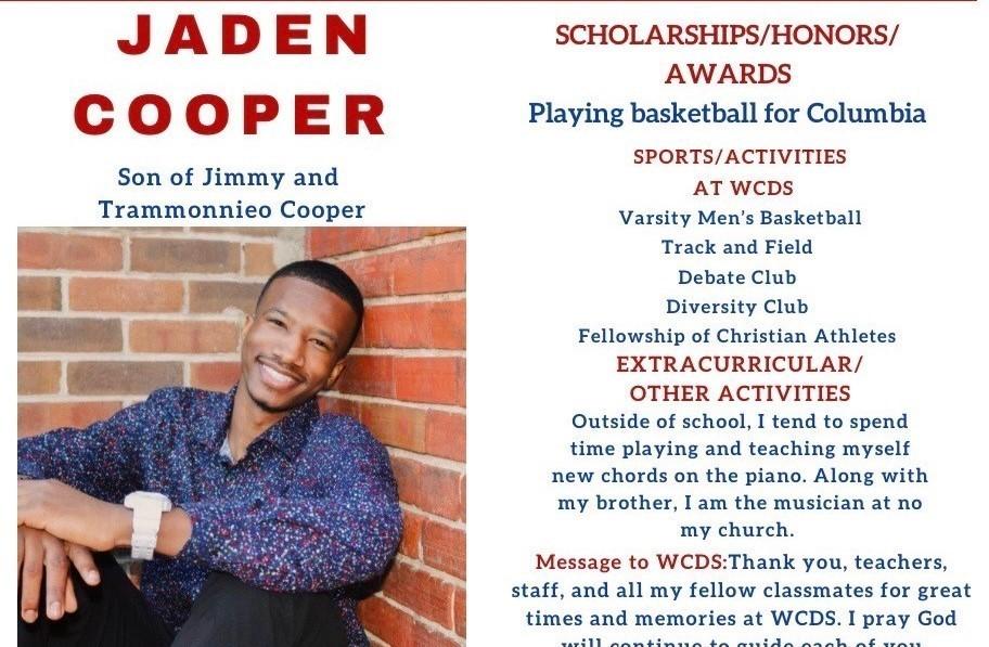 Jaden Cooper Senior Profile