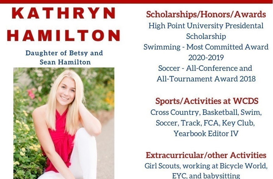 Kathryn Hamilton Senior Profile