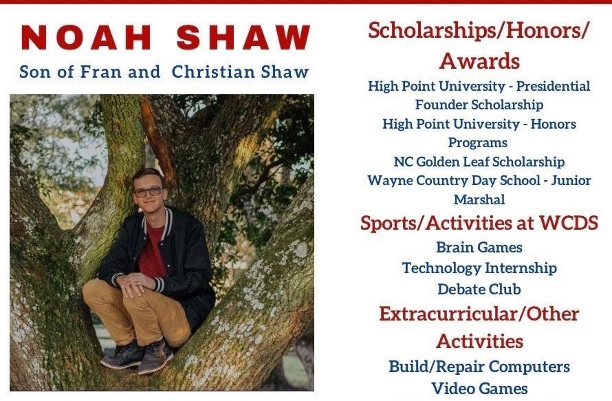 Noah Shaw Senior Profile