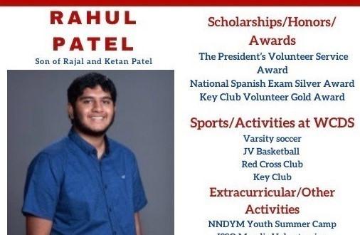 Rahul Patel Senior Profile