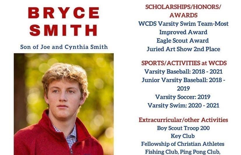 Bryce Smith Senior Profile
