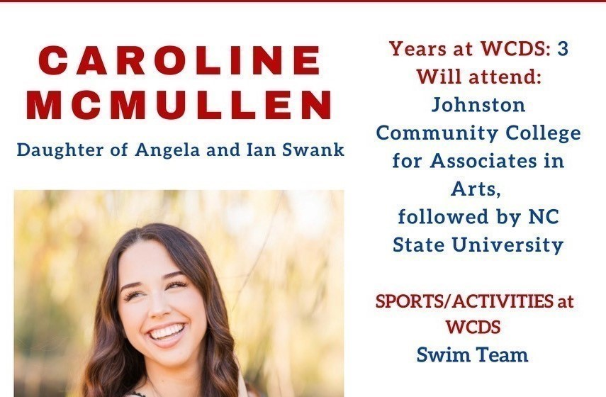 Caroline McMullen Senior Profile
