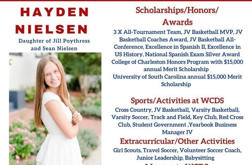 Hayden Nielsen Senior Profile