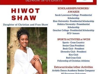 Hiwot Shaw Senior Profile