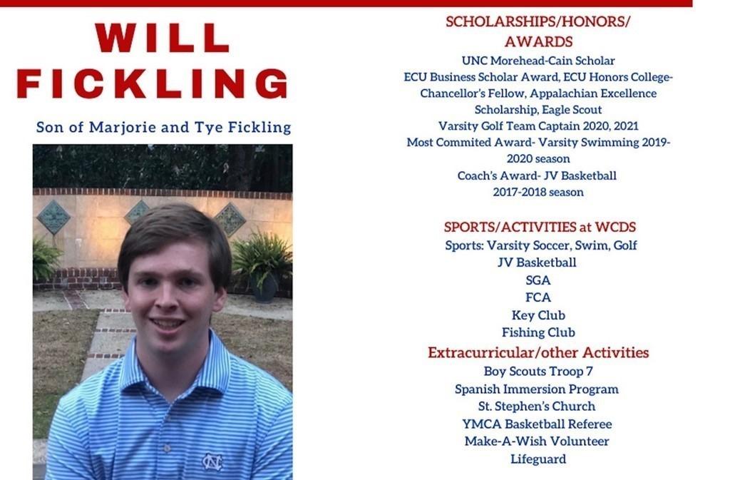 Will Fickling Senior Profile