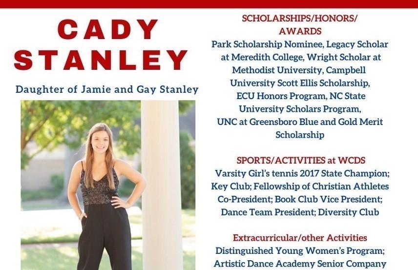 Cady Stanley Senior Profile