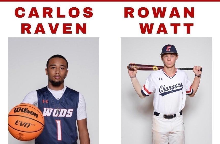 Carlos Raven and Rowan Watt Senior Profile