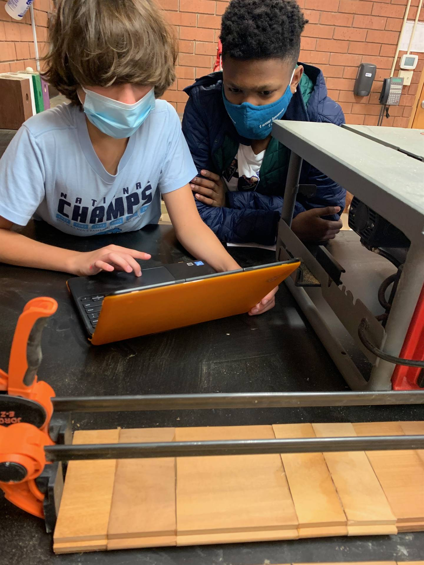 Middle School on STEM project