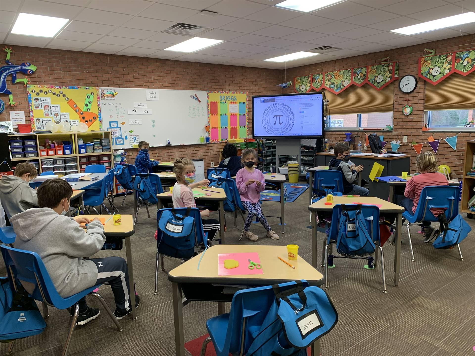 Second Grade Classroom