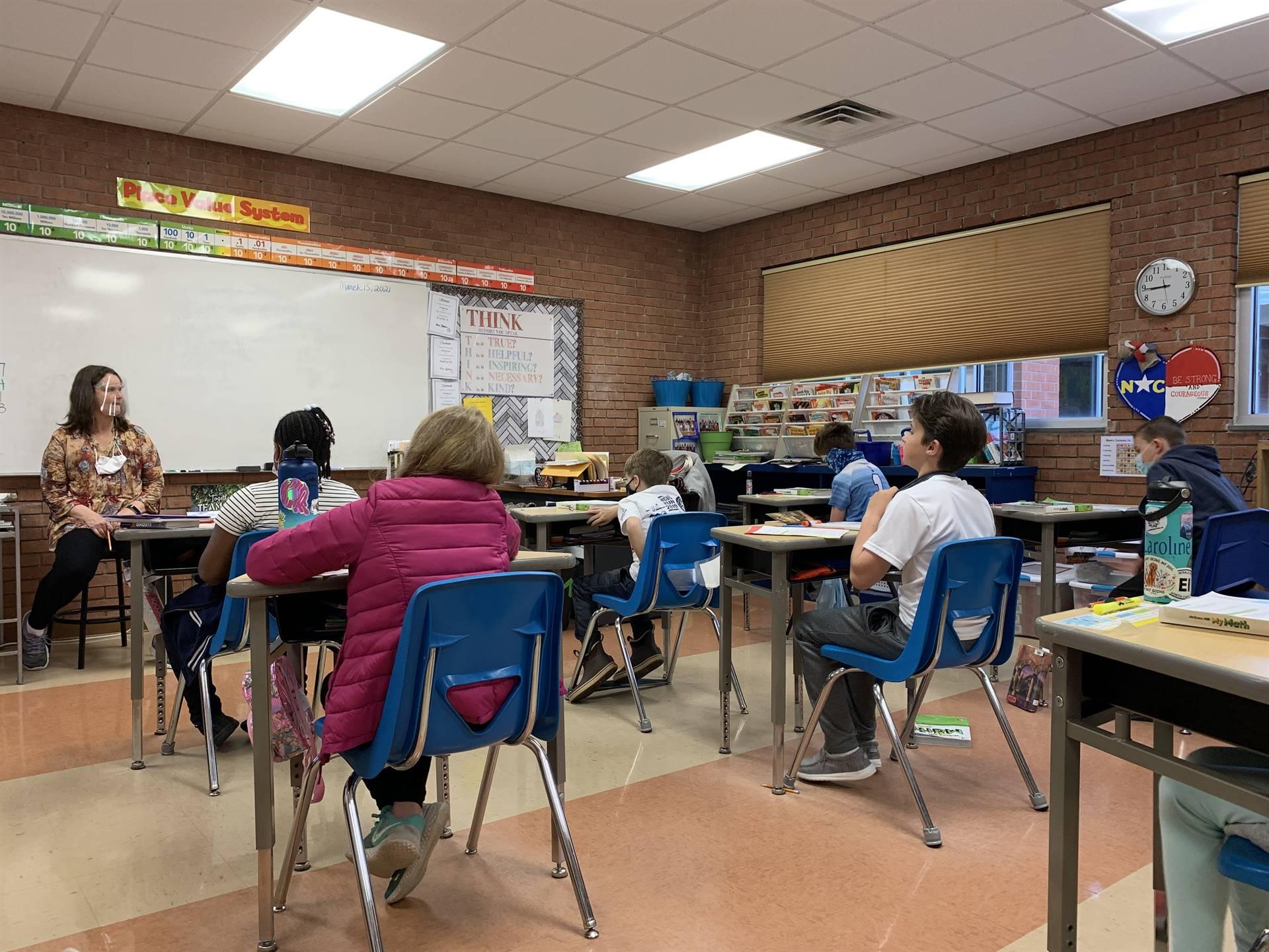Fourth Grade class discussion