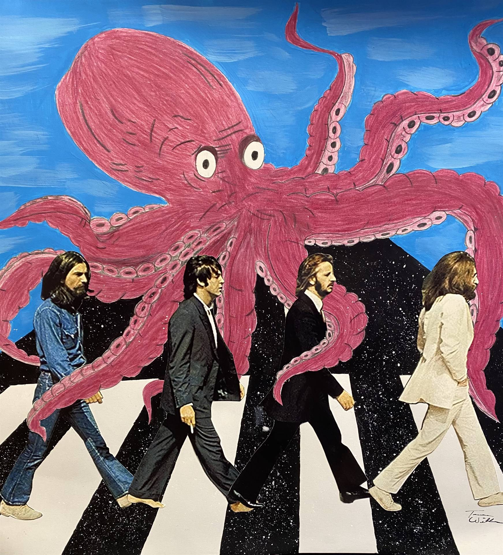 Beatles Octopus Artwork
